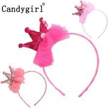 3pcs Butterfly Bow Headbands Kids Women Hairbands Princess Crown Crystal Flower Headdress Hair Accessories Boho Girl Headwear