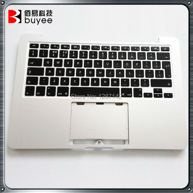 Original A1502 Top Case With Keyboard UK Version For Macbook Pro Retina 13'' 2013 2014