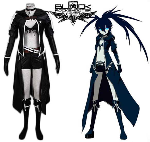 Vocaloid Insane Black Rock Shooter Cosplay Costume Tailor Made