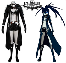 Vocaloid Insane Black Rock Shooter Cosplay תלבושות תפורים