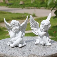 3D angel candle silicone mold angel clay mold Baby silicone mold cake decorating tools concrete moulds