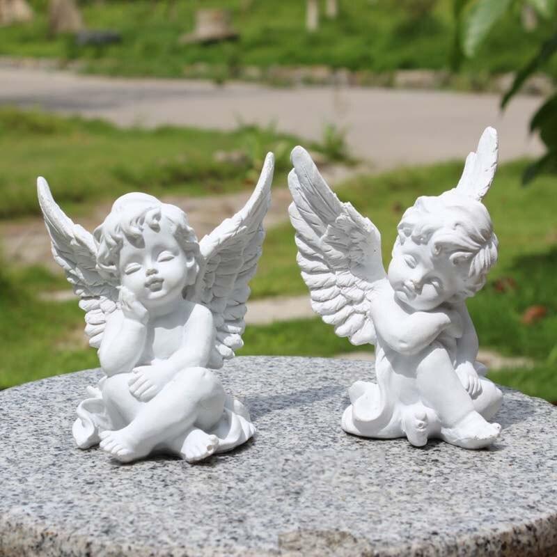 3D ange bougie silicone moule ange moule en argile Bébé silicone moule gâteau décoration outils moules en béton