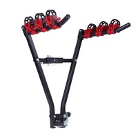 V Shape Iron Bicycle Rack Carrier Bicycle Luggage Carrier Car Bicycle Stand For Mountain Road Bike Accessory