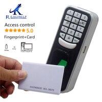 Impressão digital cartão de identificação controle de acesso impressão digital sistema de acesso de segurança falsa impressão digital scanner sensor de dedo