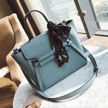 Handbag women 2019 new European and American fashion scarves accessories single