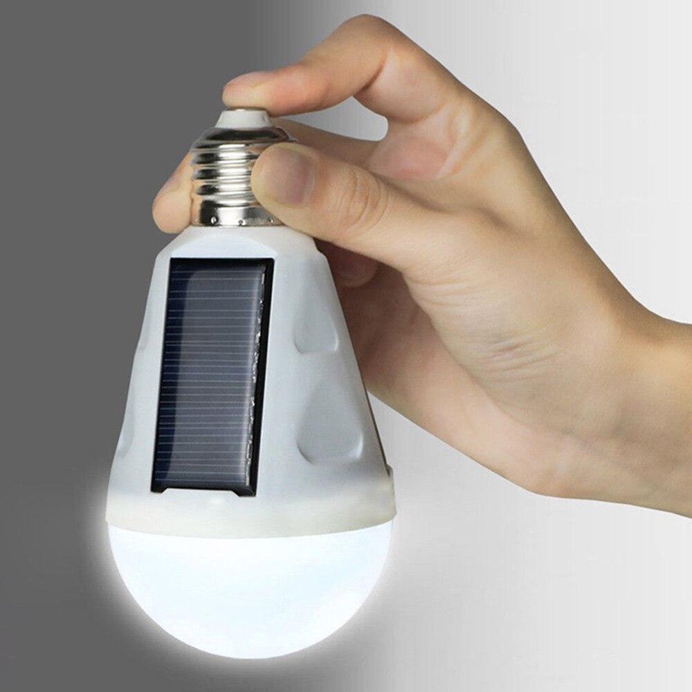 Супер яркий Лампа для палатки Солнечный AC85-265V 12 Вт Светодиодный свет E27 Пеший Туризм аварийное открытый ночника Путешествия Рыбалка фонарик