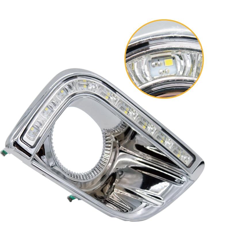 SUNKIA Car LED DRL ցերեկային հոսող թեթև - Ավտոմեքենայի լույսեր - Լուսանկար 3