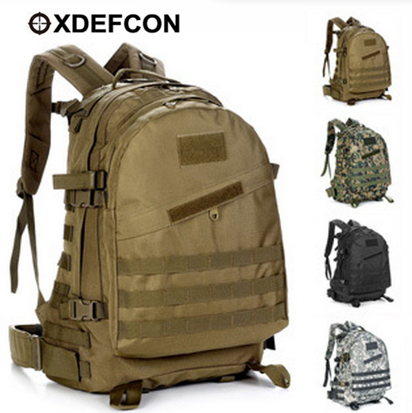 Outdoor Travel mountaineering 3d 40l tactical Molle Backpack new ...