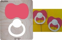 Baby nipple DIY new wooden mould cutting dies for scrapbooking Thickness 15.8mm