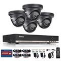 ANNKE 8-КАНАЛЬНЫЙ NVR Система 1080 P Видео Ourput 4 ШТ. Купол 1.3 mp 960 P Всепогодный CCTV AHD Камеры Системы безопасности