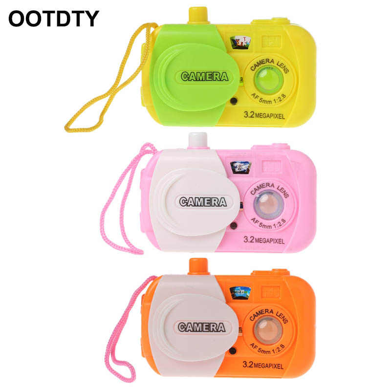 1 Piece Projection Digital Camera Toy Educational Toy Simulation Play Toys Gift For Kids
