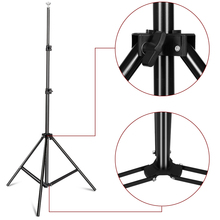 Photography Background Backdrop Stand Support System Kit for Photo Studio Muslin Backdrops, Paper and Canvas with  Carrying Bag