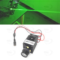 532nm 50mW Fat Beam Green Laser Diode Module Stage Lighting 3VDC + Fan + Mount