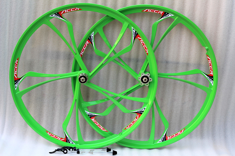 ACCRUE WHEEL new magnesium alloy wheels 26 inch cassette disc Mountain Bike wheel set bearing wheels