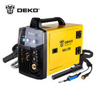 DEKO MKA 200 200A 4 9KVA IP21S Inverter Arc MIG 2 IN 1 Electric Welding Machine