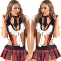 Cosplay youth student uniforms Sexy lingerie women costumes Sex Products Sexy underwear Role play suspenders Student services