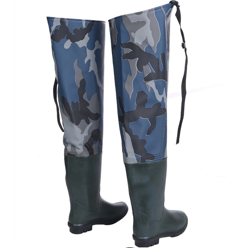 Image 3 - Waterproof Boots Hunting Boots Waders For Fishing Waders Fishing Winter Fishing Boots Wading Shoes Rubber Waders Rubber Boot-in Fishing Waders from Sports & Entertainment