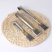 цена на Stainless Steel Food Tongs Kitchen Utensils Buffet Cooking Tool Anti Heat Bread Clip Pastry Clamp Barbecue Kitchen Tongs Steel