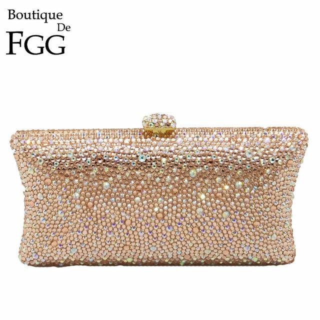 Aliexpress.com : Buy Gift Box Women Sparkling Fully Peach Diamond ...