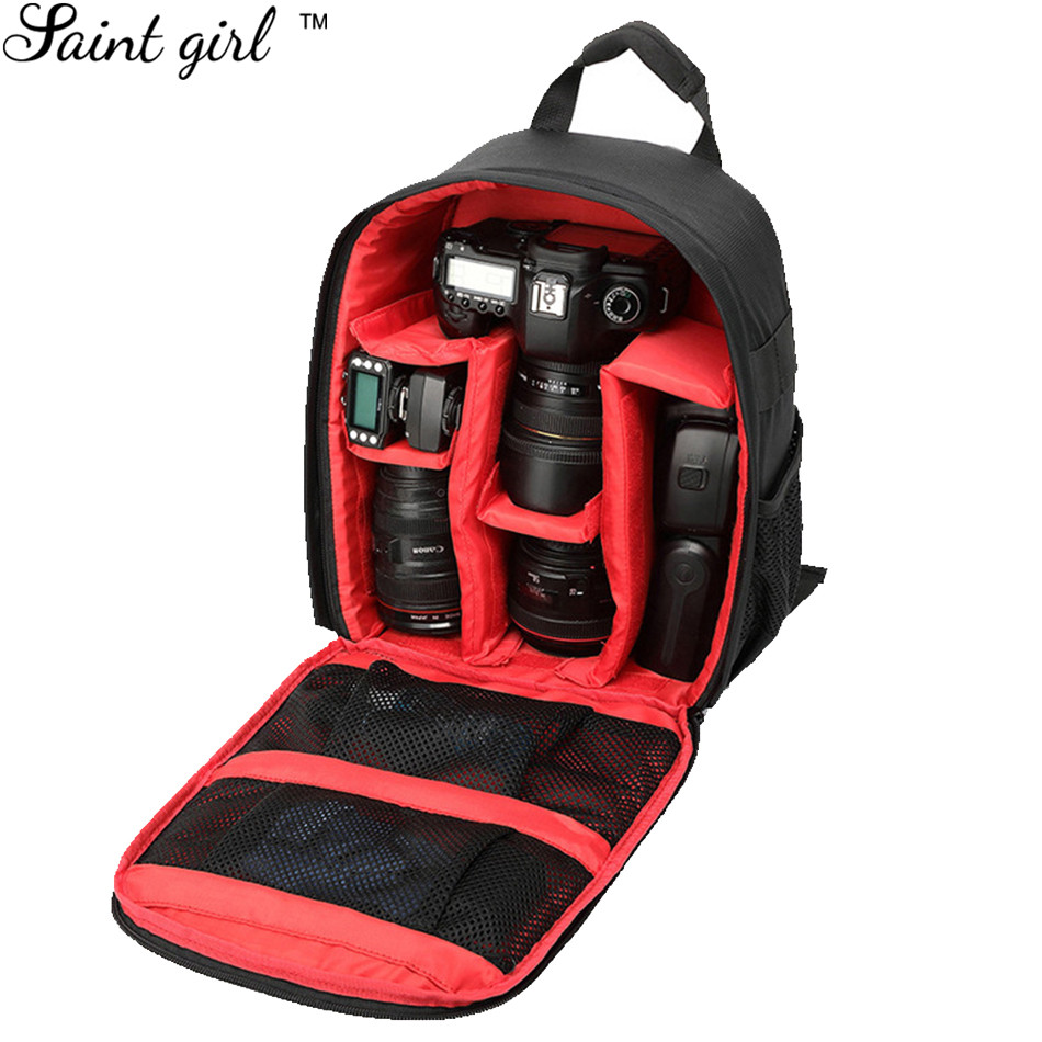 Camera Dslr Camera Bag Pattern aliexpress com buy saint girl high quality pattern dslr camera bag backpack video photo bags for nylon small compact camer