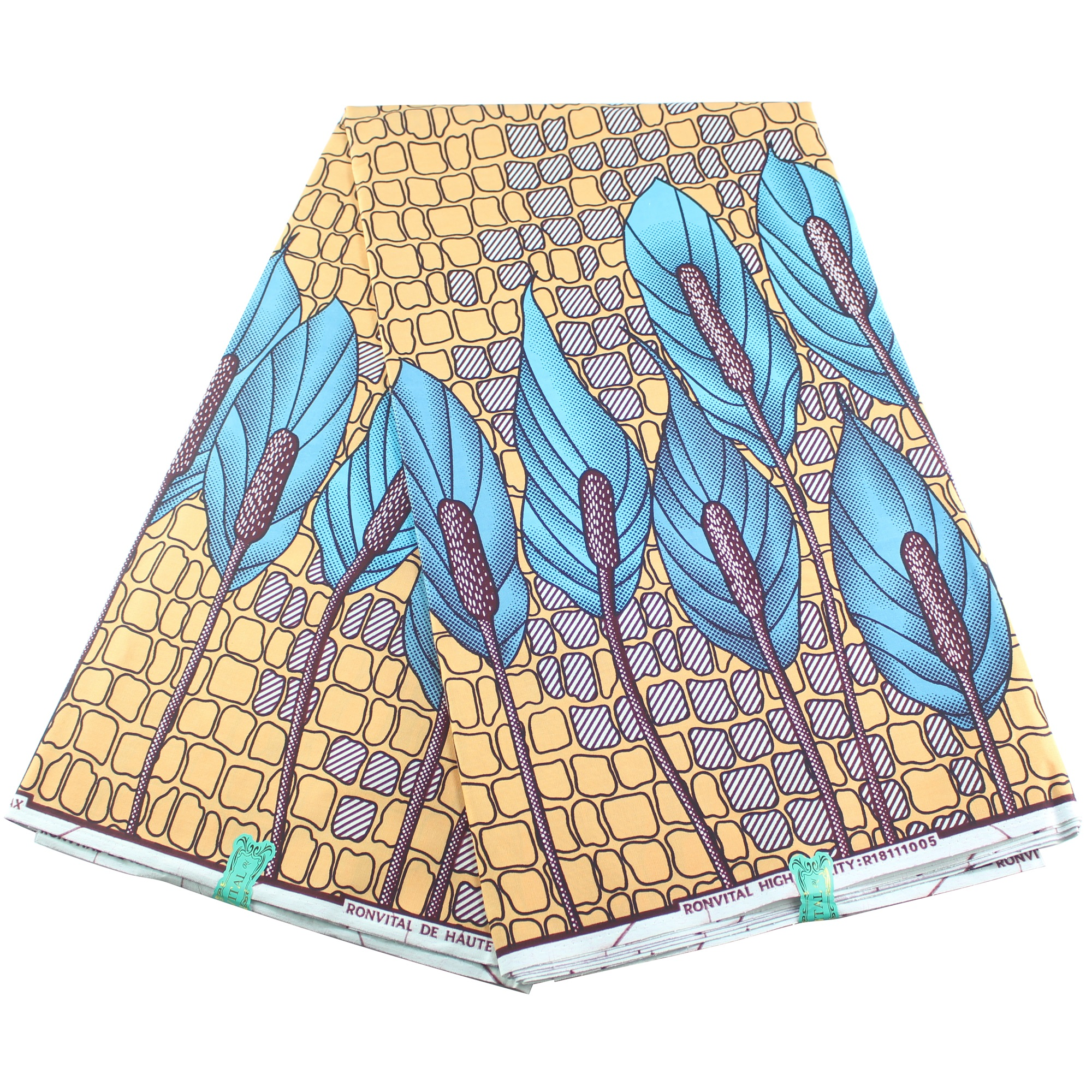 New African Cotton Printed Wax Colorful Ankara Fabric Material For Women