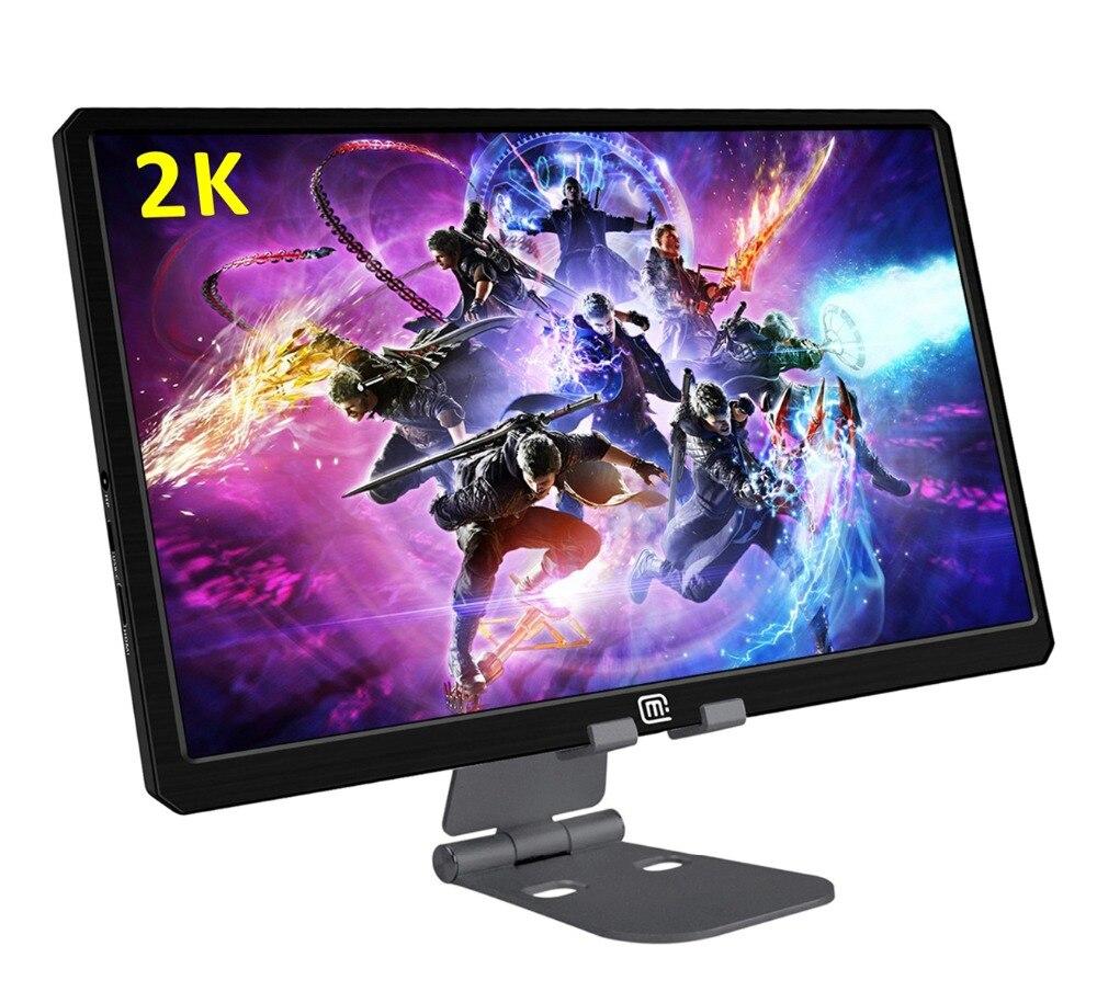 13,3 Портативный монитора компьютера PC 2 K HDMI/USB C PS3 PS4 Xbox360 ips ЖК-дисплей светодиодный Дисплей монитор для игр