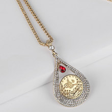 turkey Arab Coin islam Allah muslim pendant  necklace   accept drop shipping