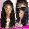 In Stock Soft&Natural Looking Synthetic Lace Front Wig Deep Wave Lace Wigs With Baby Hair Heat Resistant Synthetic Body Wavy Wig