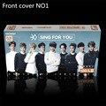 2016 nueva kpop EXO Álbumes Cantar para ti Conjunto 120 zhang + 1 Pegatina de recuerdos de lomo postal cartel kpop EXO firma