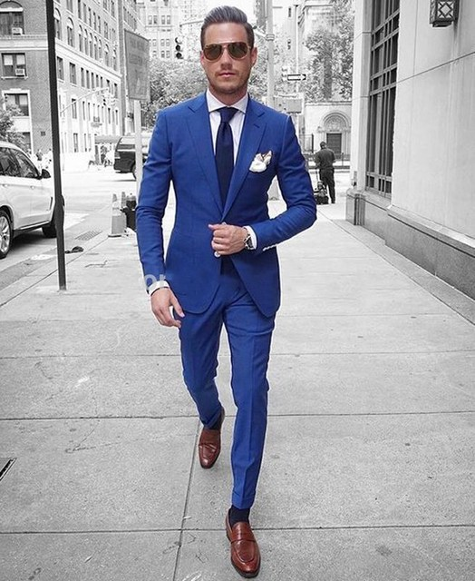 13+ Suits For Men Blue