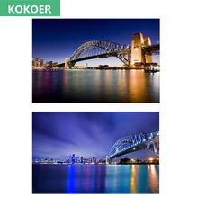Алмазная 5d картина «сделай сам» мост Сиднея залива Новое поступление