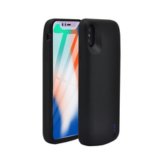 6000m Portable Powerbank Pack For iPhone XR Xs Max Battery Case 5000mAh External Battery Charger Case For iPhone X Xs
