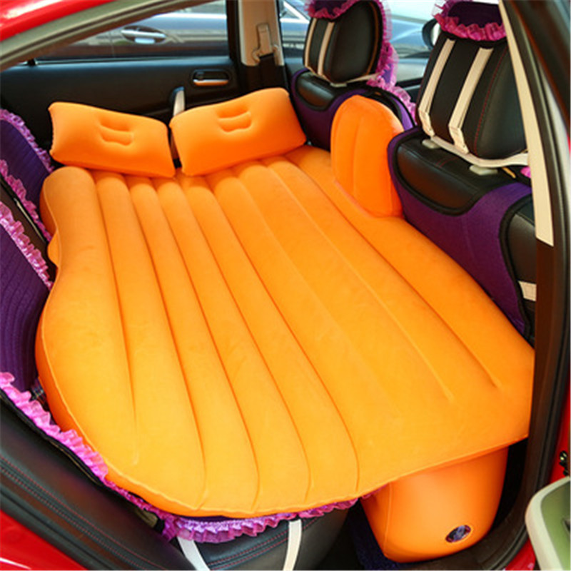 Car Back Seat Universal Travel Bed Air Inflatable Mattress Outdoor MultiFunctional Camping Mat Mattress Cushion with