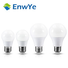 EnwYe LED 3W 6W 9W 12W 15W 18W 220V E27 LED Bulb Lamp Smart IC Real Power Cold White/Warm White Lamp(China)