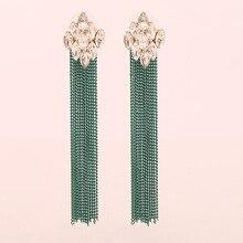 Popular Delicate Earrings Temperament Wild Stainless Steel Simple Tassel Fashion Personality Pendant Party Ear Jewelry
