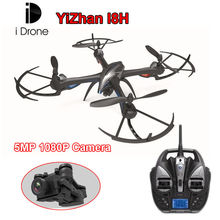 Free shipping! IDrone i8H Explorers Drone RC Quadcopter 6-Axis Gyro 5MP 1080P Camera Airplane