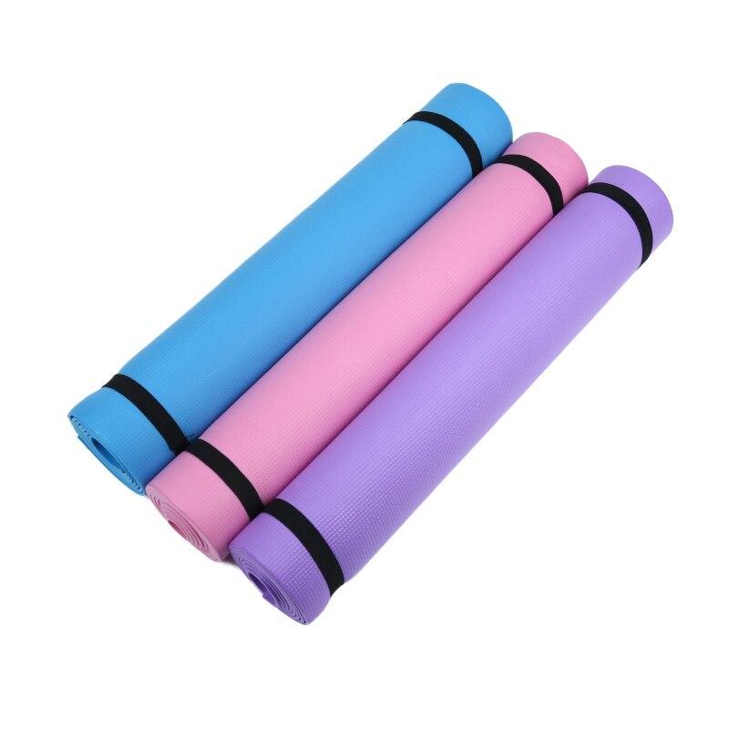 ★  4 мм толстые женщины Ева фитнес комфорт пена йога коврик упражнения  йога  пилатес ①