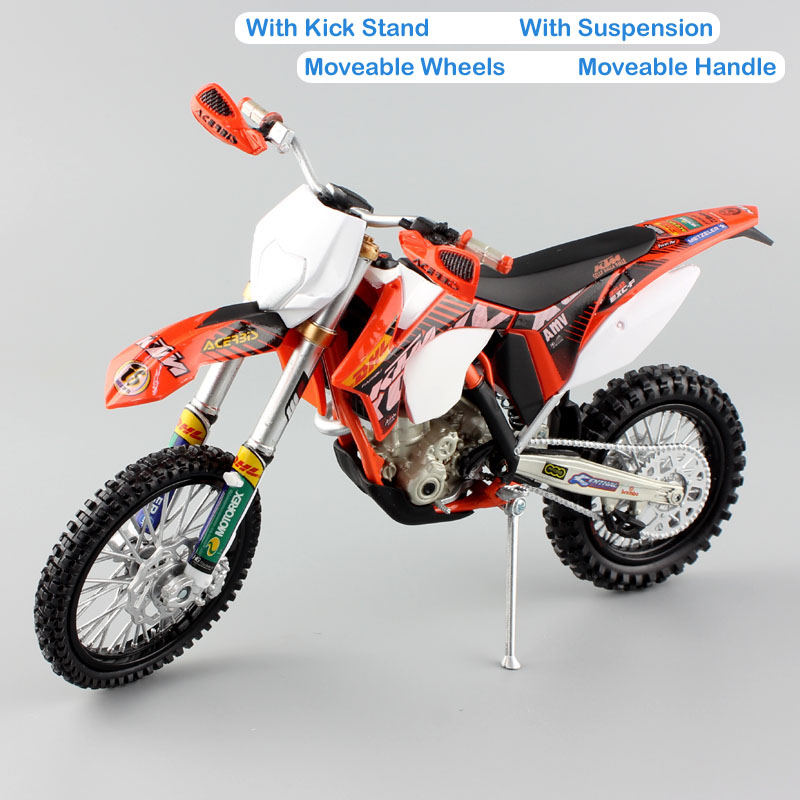 Image 4 - 1 12 scale Automaxx mini KTM 350 EXC F AMV DHL Motorcycle Diecast Model Motocross enduro motor dirt bike toys vehicle car kid's-in Diecasts & Toy Vehicles from Toys & Hobbies