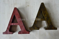 2 Pieces Vintage Movie Theatre Marquee 26 Letters Metal Iron With Hook On Back Large Big