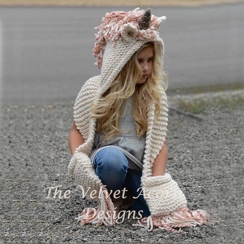 3218ec4ee65 ... Winter Animal Kids Hats Lovely 3-10Y Toddler Girl Boy Warm Cap Baby Hat  Hooded ...