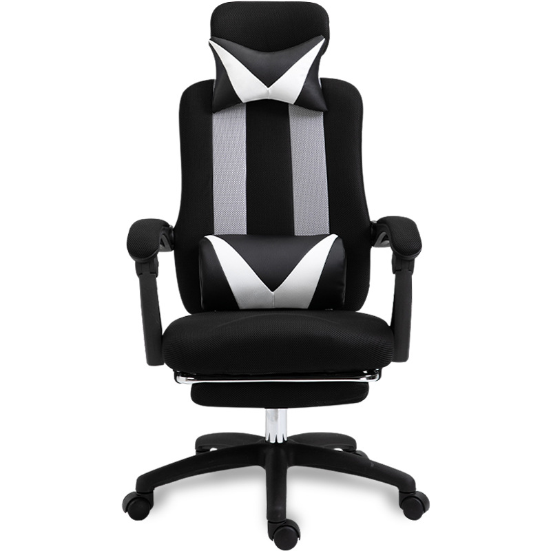 High quality mesh computer chair lacework office chair lying and lifting staff armchair with footrest free shipping(China)