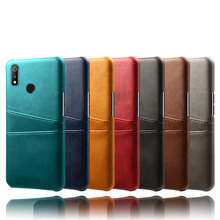 Card Wallet PU Leather Phone Case For OPPO Realme3 2 Pro Realme U1 Luxury Business Dual Card Bag OPPO Realme MobilePhone Cover for oppo realme 5 case luxury pu leather and soft fabric splicing design anti scratch cover for oppo realme 5 pro case card