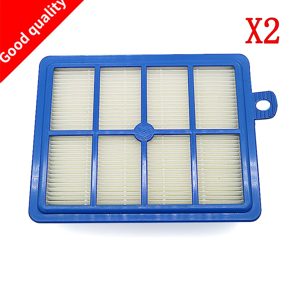 все цены на 2PCS/lot H12 H13 Washable and Reusable Hepa Filter, Fits for Philips Electrolux EFH12W AEF12W FC8031 EL012W vacuum clener parts онлайн
