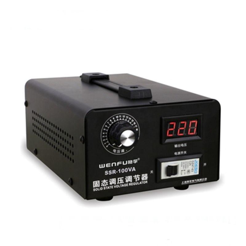 Solid State Voltage Regulator 220v Voltage Regulator Single-phase Electronic Thyristor Regulator High Power 0-220v Thermostat