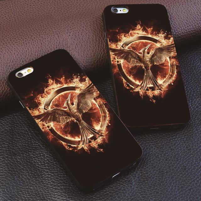 premium selection 5637d 1bf33 Hunger Games Hard Plastic iPhone Case