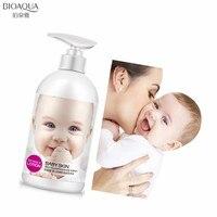 BIOAQUA 250 мл нежной кожей ребенка питательный лосьон для тела увлажняющий отбеливания укрепляющий уменьшения пор против Сухой Гладкий уход за...