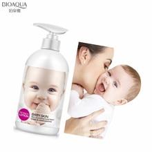 цена на BIOAQUA 250ML Baby Skin Tender Nourishing Body Lotion Moisturizing Whitening Firming Shrink Pore Anti-dry Smooth Body Care Cream