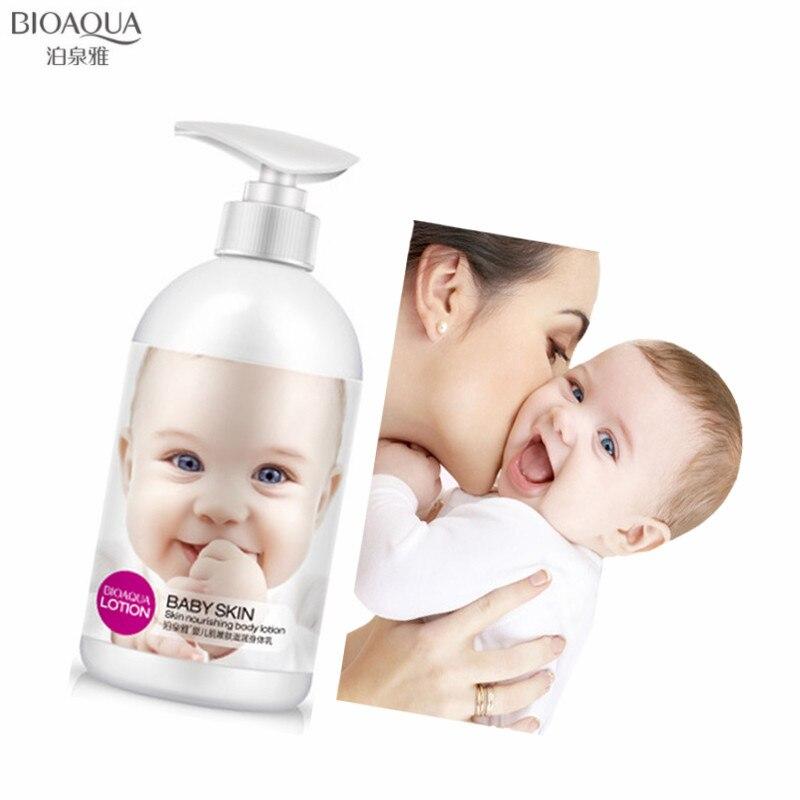 BIOAQUA 250ML Baby Skin Tender Nourishing Body Lotion Moisturizing Whitening Firming Shrink Pore Anti-dry Smooth Body Care Cream