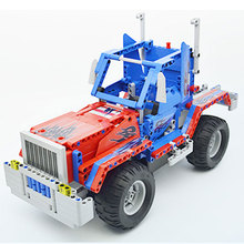 Fighting Leader RC Car Mode Building Blocks 2.4 Ghz Running Fuction Radio Remote Control Car Bricks Technic Toys For Children 514pcs 2in1 pick up king technic series rc car building blocks radio control off road truck remote control car toys for children