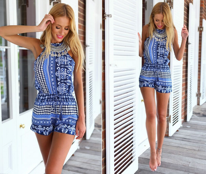 Aliexpress.com : Buy 2015 Summer Cute Rompers Womens Jumpsuit ...